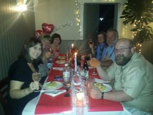 Valentine's 2015 dinner