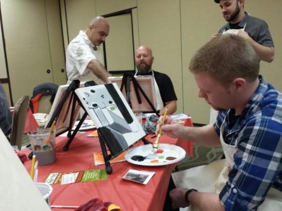 Haeger painters 2